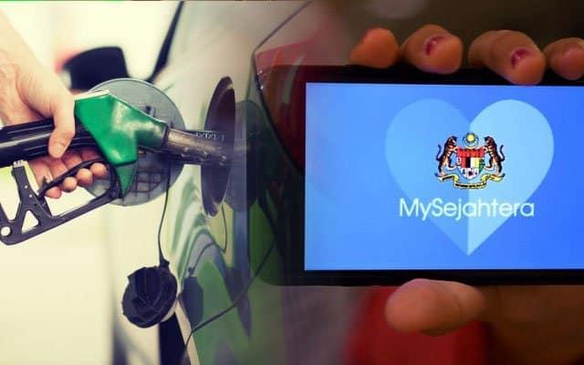 Gagal 'scan' MySejahtera ketika isi minyak akan didenda RM1000 – Polis