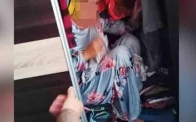 KANTOI | Bini orang takut ditangkap sorok dalam almari