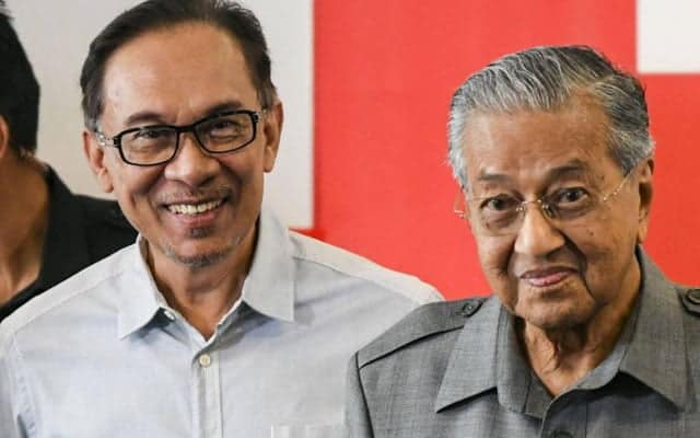 Halangan 'Grand Coalition' pembangkang hanya satu, perseteruan Mahathir-Anwar