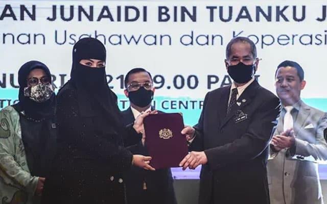 Anak Zahid Hamidi dilantik ahli Perbadanan SME Corp
