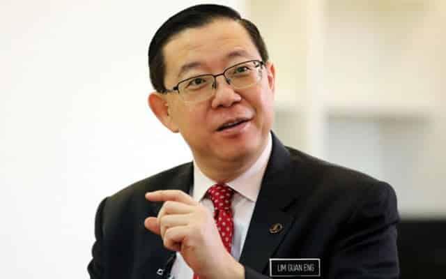 Dia bergaduh sesama Umno heret nama DAP pula – Lim Guan Eng