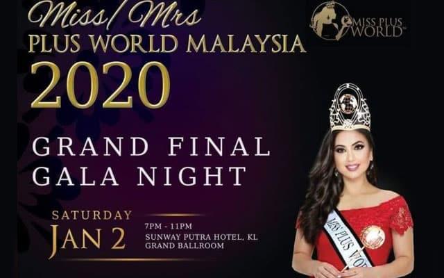 Program ratu cantik Miss Plus World diteruskan seperti biasa