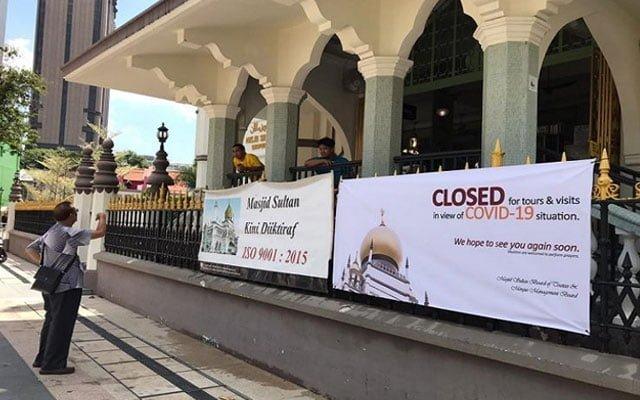 Norma Baharu yang janggal, Masjid tutup Shopping Mall buka