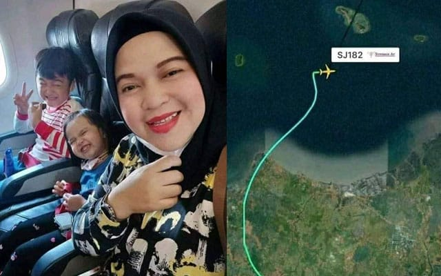 Al Fatihah !!! 'Selfie' terakhir sebelum pesawat Sriwijaya terhempas