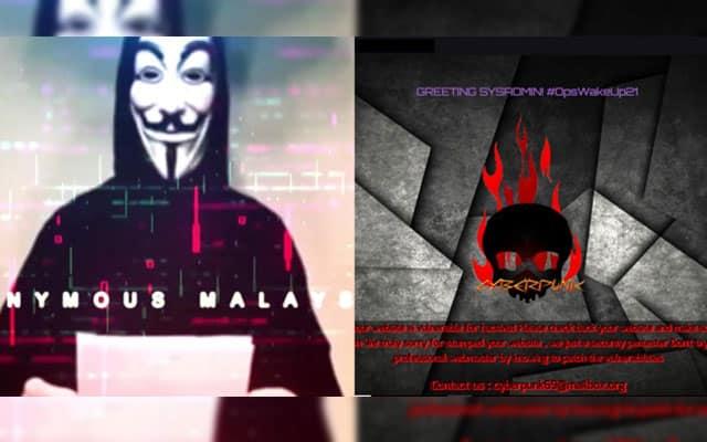 Gempar !!! Laman web berkaitan kerajaan mula diserang hackers bermula malam tadi