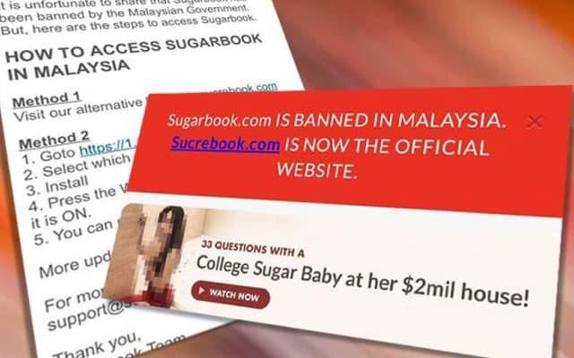 SKMM sekat Sugarbook, tapi admin sugarbook siap ajar rakyat Malaysia untuk lepasi sekatan