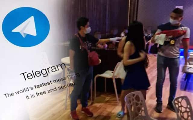 Panas !!! Tawar 'servis' seks waktu PKP melalui aplikasi telegram kini terbongkar
